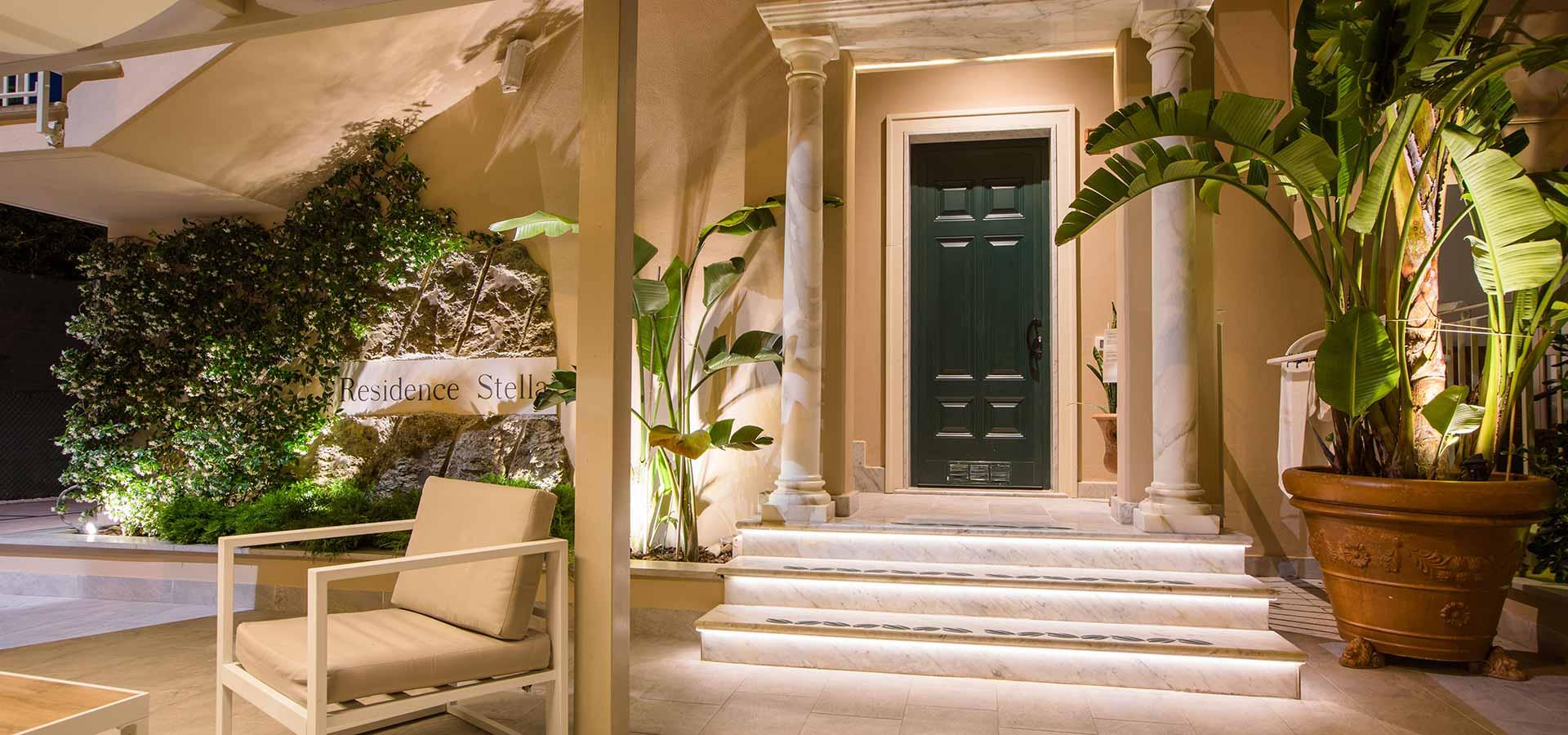 Residence Stella a Marina di Massa, R.T.A. a 30 metri dal mare